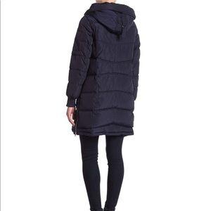 Steve Madden Womens Faux Down Puffer Jacket